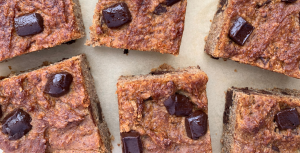 Chickpeas Blondies